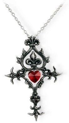 Amazon.com: Renaissance Cross of Passion Alchemy Gothic Necklace: Jewelry