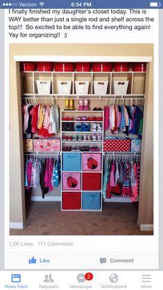 Dream kids closet