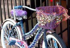 boho gypsy bellydance bike bicycle