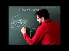Sistema diédrico  Giros, presentación de giro de un segmento y giro de u...