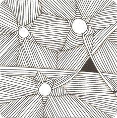 Muster Mixer #2 | Freude mit Zentangle