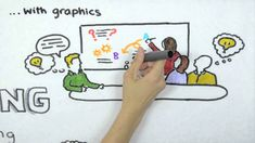 Graphic Recording = translation of conversations into images and text on large sheets of paper during meetings and events.  By Tanya Gadsby