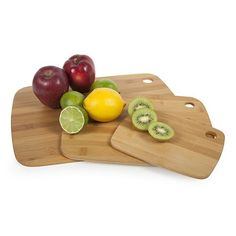Core Bamboo Classic 3-pc. Cutting Board Combo Pack
