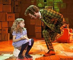 Original London Cast - Matilda The Musical London Matilda Cast, Matilda Broadway, Matilda Costume, Musical London, Drama Stage, Modern Feminism, Heathers The Musical, Positive Images
