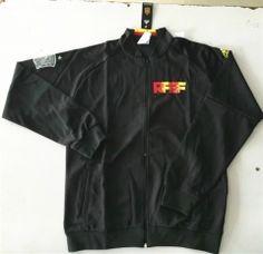 2016 European Cup Spain Black Thailand Soccer Jacket