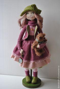 """Peuples faits à la main.  Maîtres équitables - faits à la main.  Acheter """"Keys à la source.""""  Handmade.  Poupée en cadeau, girl, maillot"""