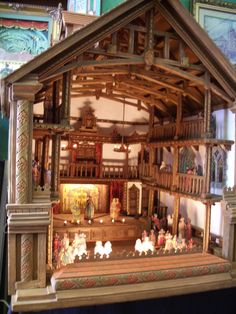 puppet theater - reminds me of The Sound of Music
