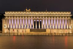 Dans le panorama de Lyon, le palais de Justice fait partie du paysage. Comment est-il éclairé au rythme de la nuit ? Rencontre avec Jérôme Donna de la DEP.
