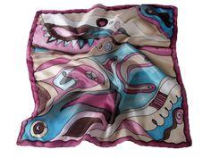 Fesd meg saját selyemkendődet a kezdő selyemfestés tanfolyamon!  www.silkyway.hu/selyemfestes-tanfolyam Fabric Painting, Fashion, Scarves, Silk, Moda, Painting On Fabric, Fasion, Trendy Fashion, La Mode