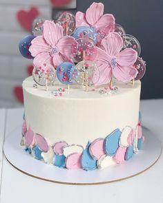 Pretty Cakes, Cute Cakes, Beautiful Cakes, 2 Tier Birthday Cakes, Birthday Cake Girls, Amazing Wedding Cakes, Amazing Cakes, Fashion Cakes, Cake Decorating Techniques