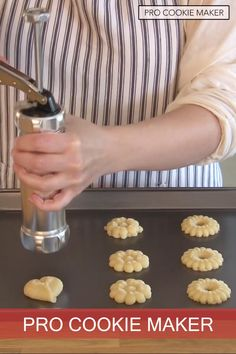 Make the perfect holiday cookies this season with the Pro Cookie Maker! Surprise your family and friends with perfectly shaped delicious cookies. Making cookies has never been simpler. How To Make Cookies, Making Cookies, Cookie Recipes, Dessert Recipes, Baking Gadgets, Perfect Chocolate Chip Cookies, Yummy Cookies, Holiday Cookies, Cranberry Relish