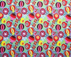 POMEGRANATE -  Lillestoff - Organic Jersey fabric -              (1/2 Yard)