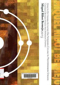 Effects of human activities on nitrogen cycling in mediterranean streams : contrasts between nitrate and ammonium dynamics / Miquel Ribot Bermejo ; director: Eugènia Martí Roca ; tutor: Francesc Sabater i Comas ; codirector: Daniel von Schiller Calle. [Programa de doctorat en Ecologia Fonamental i Aplicada — Tesi doctoral - Universitat de Barcelona. Departament d'Ecologia, 2015]  #tesisdoctorals