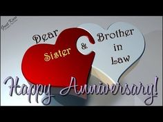 Happy Anniversary Greetings for Sister & Brother In Law