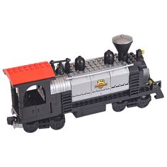 The Train Heavy Steam Engine with Driver Building Blocks Toys Compatible - Blocks