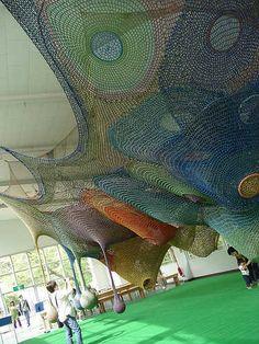 Parque infantil de crochet! weeeee
