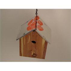 Clemson Birdhouse Chrome Deluxe License Plate Roof Handmade BHLP-1010 $49.99