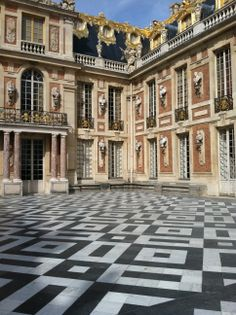 Versailles, France--how on earth did I miss this terrace?