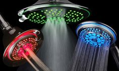 Groupon - DreamSpa Color-Changing LED Multi-Functional Luxury Showerheads. Multiple Options Available from $ 22.99—$35.99   in [missing {{location}} value]. Groupon deal price: $22.99