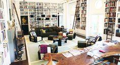 Diane Von Furstenberg's library