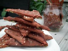 Cviklové trojuholníčky so semienkami Appetizer Recipes, Appetizers, Tasty, Yummy Food, Beetroot, Healthy Life, Bacon, Food And Drink, Cooking Recipes