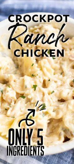 Crockpot Dishes, Crock Pot Cooking, Crock Pot Pasta, Chicken Recipes For Crock Pot, Frozen Chicken Crock Pot, Crock Pot Spaghetti, Simple Crock Pot Recipes, Chicken Crock Pot Meals, Crock Pot Healthy