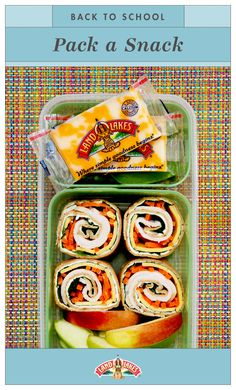 Our recipe for the perfect back-to-school snack: One perfectly portioned Bento Box, filled with Co-Jack Snack'n Cheese To-Go®.  It's back-to-school time, but don't worry: You've got this.