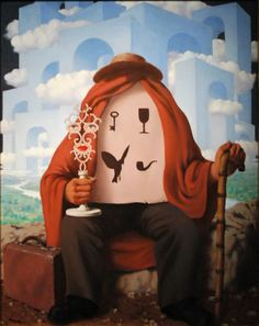 The Liberator by René Magritte✖️More Pins Like This One At FOSTERGINGER @ Pinterest✖️