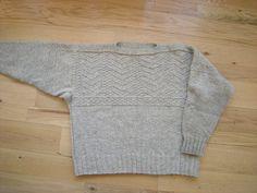 Ravelry: Gaffer's Fisherman Gansey pattern by Elizabeth Zimmermann