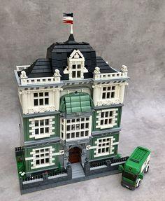 Casa Lego, Brick In The Wall, Lego Modular, Lego Room, Lego Architecture, Lego House, Lego Creations, Coven, Lego City