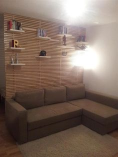 doesn't give you much functional space on it but it's a pretty room divider [IKEA Hackers: Mandal room divider]