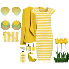 Spring Up Yellow