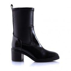 Black Vegan Boot - Patsy