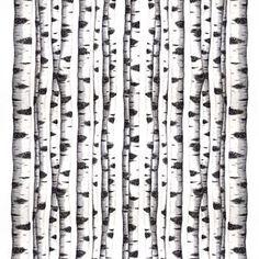 Den trendy Skogsbryn tekstil fra Arvidssons Textil er tegnet af Mialotta Arvidsson-Mars. Stoffet er lavet af fint bomuld og har et pænt mønster af stammer på birketræer i gråt og hvidt. Brug tekstilet som gardin eller hvorfor ikke som en alternativ rumdeler