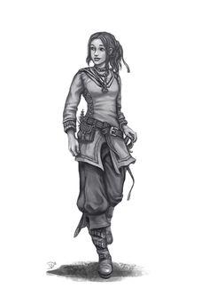 Amene Melior (DSA) by Neferu.deviantart.com on @DeviantArt