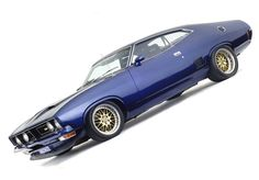 ◆ Visit MACHINE Shop Café... ◆ ~ Aussie Custom Cars & Bikes ~ 1973–76 Ford XB Falcon 351 GT
