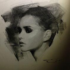 charcoals — Casey Baugh Fine Art