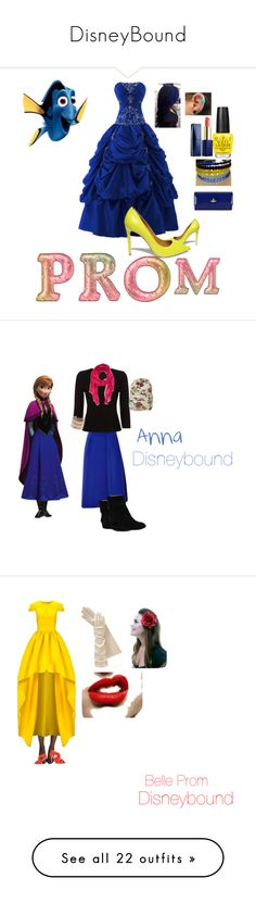 """DisneyBound"" by cbclaire ❤ liked on Polyvore featuring Steve Madden, Vivienne Westwood, OPI, Estée Lauder, J.W. Anderson, Precis Petite, Armand Diradourian, Taryn Rose, Disney and Billabong"