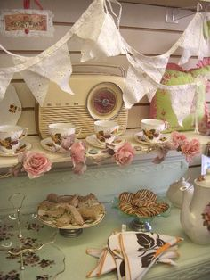 Vintage Tea Party with The Vintage Cream, Cornwall