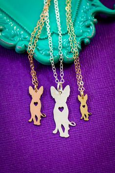 Sphynx Cat Necklace  Hairless Cat Pendant  Kitty by IvyByDesign