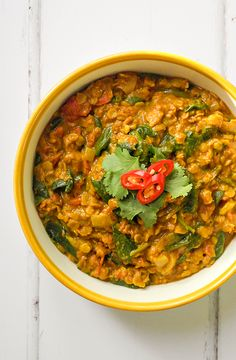 Warming, filling, comforting. It's just the perfect dish for a cold, winter evening. Take a look at this super easy recipe - no long list of spices and minimal prep.