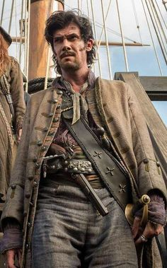 Pirate Jack Rackham - Black Sails