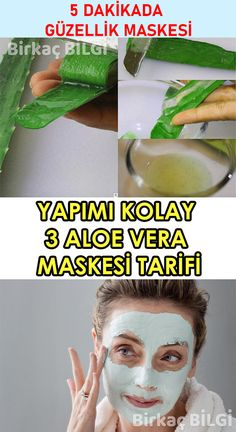 Skin care is very important for a healthy skin. Free of oil … – Cosmetic Ideas Aloa Vera, Skin Mask, Homemade Beauty, Beauty Care, Healthy Skin, Aloe, Health Tips, Nutrition, Cosmetics