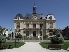 Mairie de Tarbes (Hautes-Pyrénées, France, An example of French Second Empire architecture