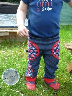 """Hose """"kleine Knöpfle"""" für Kinder mit den Größen 74-104 auch eine Puppengröße ist dabei"""