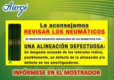 INFO NEUMÁTICOS III (Válido del 17 de julio al 17 de agosto 2015). Más información en www.aurgi.com/
