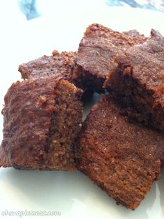 A Healthier Brownies Recipe (Paleo and Gluten Free)