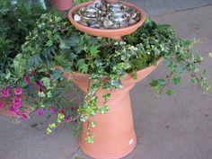 Greenlife Nursery: Build A Bird Bath Lantern Planter