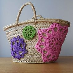 carpazo decorado en crochet - Buscar con Google