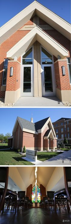 The newest addition to the Baylor campus: Elliston Chapel.